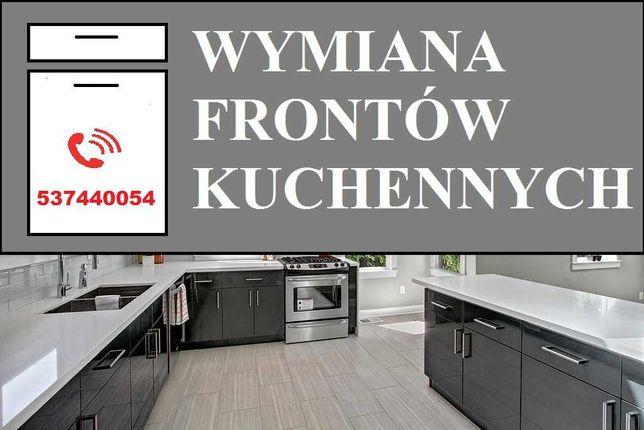 Fronty do kuchni - wymiana frontów kuchennych - fronty akrylowe