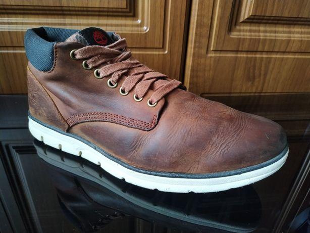 Кожаные ботинки Timberland 43 оригинал ecco clarks Wolverine кроссовки