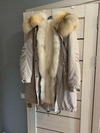 Парка, куртка, лиса, натуральная.