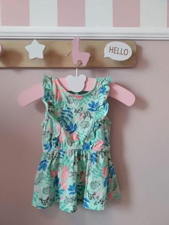 Sukienka sukieneczka jak nowa Cool Club ze rozmiar 74