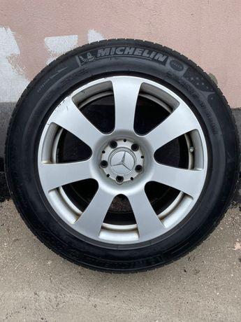 235/55 r17 Michelin x-ice Шины+диски мерседес