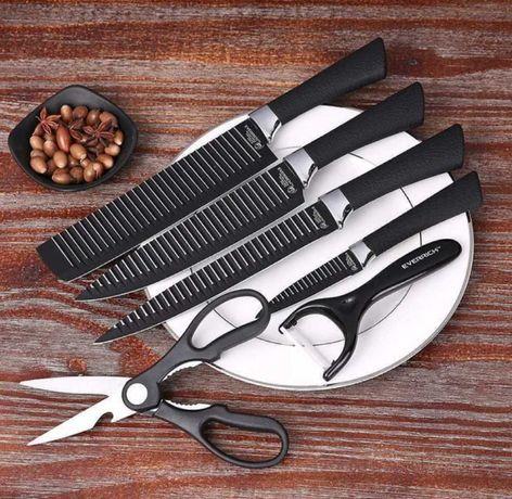 Набор кухонных ножей knife 6 in 1 из нержавеющей стали