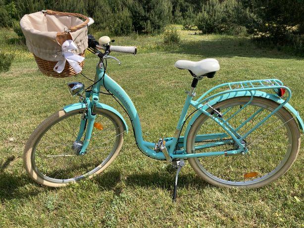 Rower miejski Le Grand 28 cali seledyn