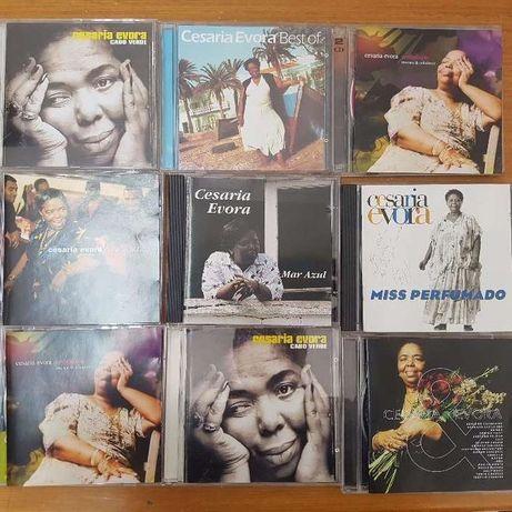 cd Cesária Évora música africana cabo verde