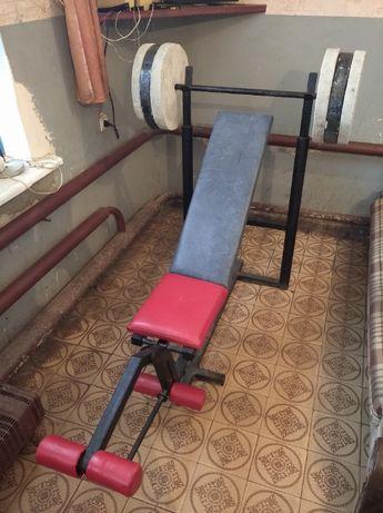 Тренажер-скамья для жима- 2222грн
