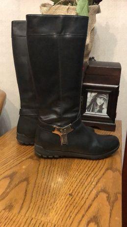 Сапоги зимние кожаные на цигейке Missouri размер 36