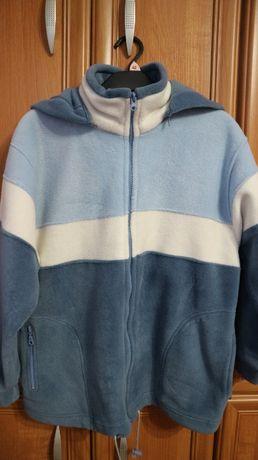 Szeroka bluza polarowa polskiej produkcji - 146/152 - Luxor - NOWA