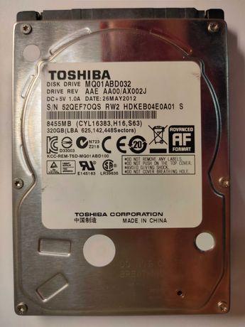 320GB HDD SATA 3 5400 RPM 8 MB Toshiba
