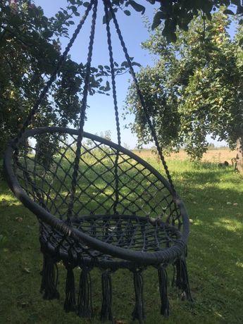 Fotel wiszący hamak hustawka