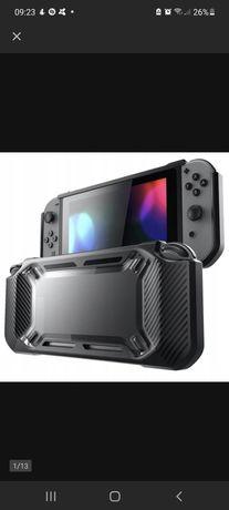 Etui Alogy 7572 do Nintendo Switch czarny