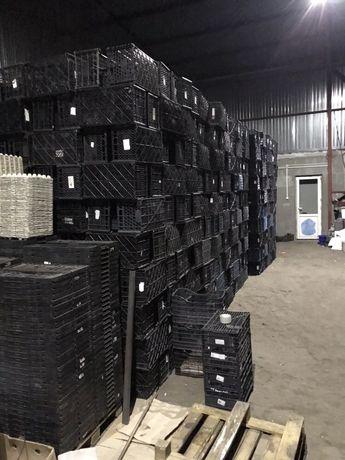 Ящики пластиковые, ящики пластикові