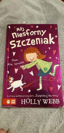 Książka mój niesforny szczeniak
