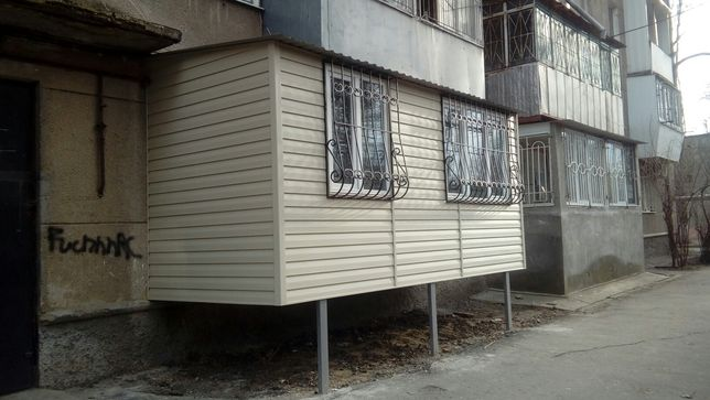 АКЦИЯ!!Балконы:расширение,утепление,остекление, сварочные работы и др.