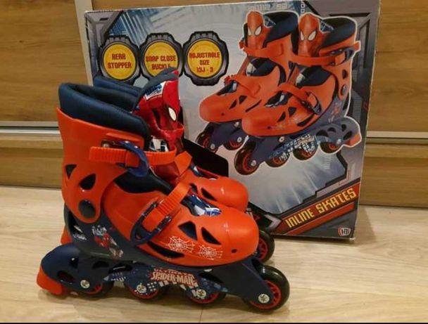 Rolki/łyżworolki dla dziecka 32-36 SpiderMan