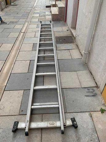 Escada Alumínio com 24 degraus oportunidade