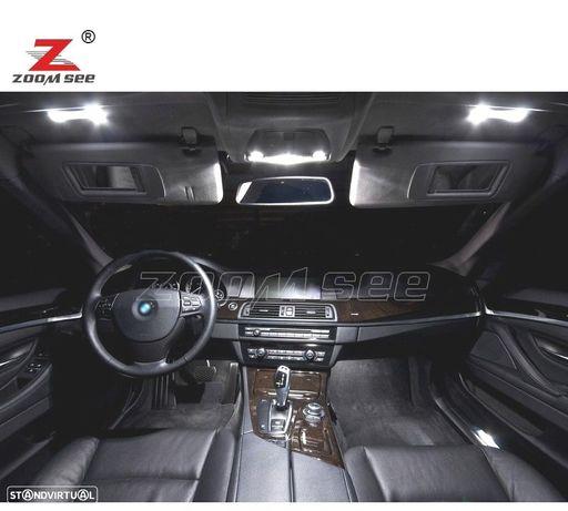 KIT COMPLETO DE 29 LÂMPADAS LED INTERIOR PARA BMW 5 SERIES GT 5GT F07 528I 535I 550I 650I XDRIVE (2