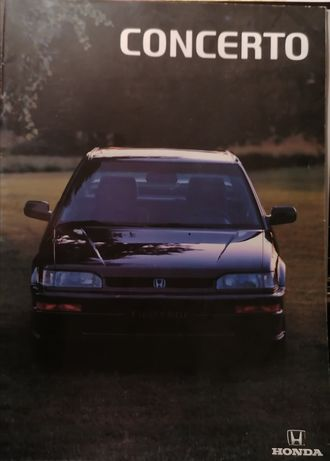 Prospekt Honda Concerto