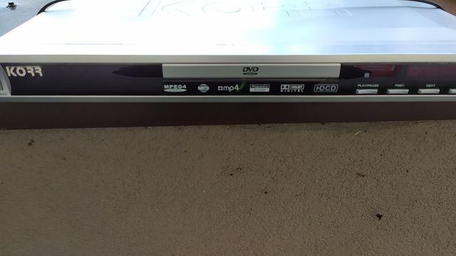Odtwarzacz DVD Korr HYD-9907DX
