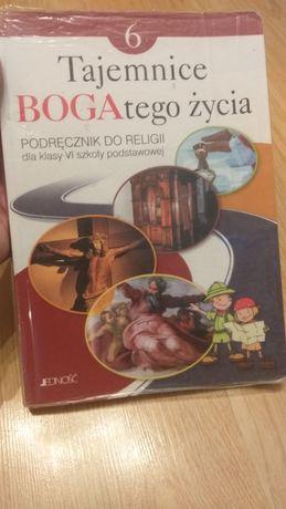 Podręcznik do religii klasa 6 Tajemnice Boga tego życie