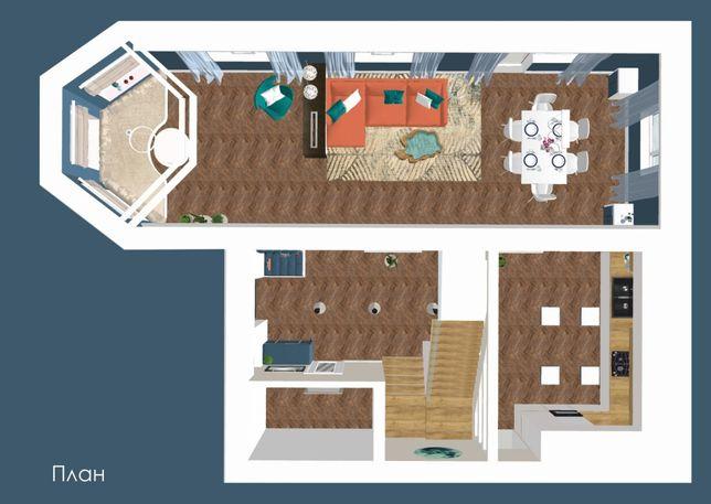 Дизайн-проект квартиры, дома, офиса