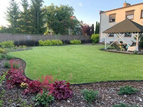 Automatyczne nawadnianie i zakładanie trawnika