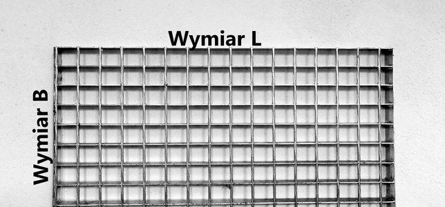 Krata pomostowa WEMA 100x100 cm 1000x1000 30x2 mm ocynk podest schody