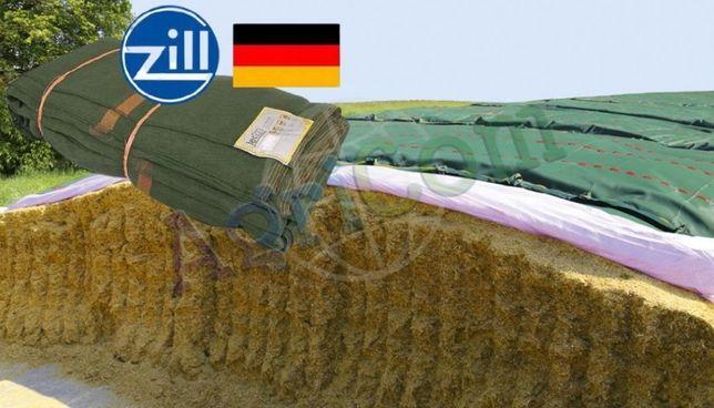 Siatka rolnicza ochronna zielona na pryzmy,kiszonka z kukurydzy