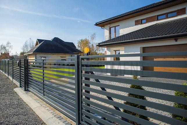 Brama przesuwna ogrodzeniowa - montaż - bramy wjazdowe przesuwne