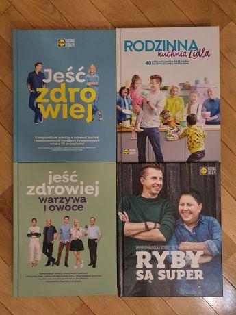 Książki kuchnie Lidla. Stan idealny.