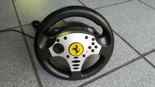 Volante + pedais Thrustmaster Ferrari Challenge Racing Wheel (PC/PS3)