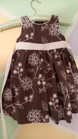 Нарядные  платья 3-4 года