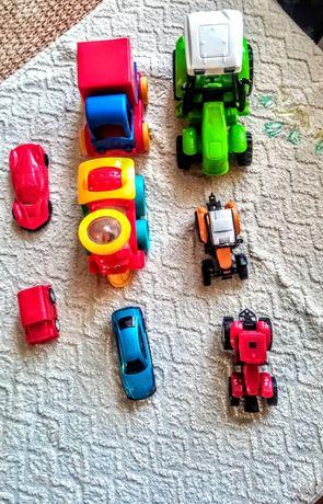 Autka i traktorki