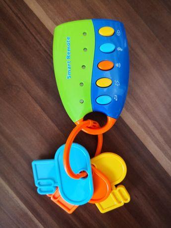 Pilot z kluczykami, zabawka dla dziecka