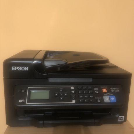Принтер, сканер, ксерокс, EPSON WF-2630WF