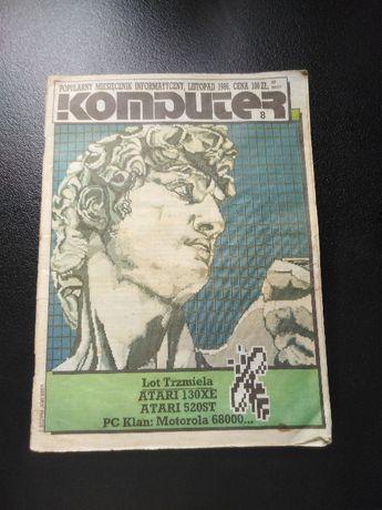 Komputer, czasopismo listopad 1986, nr 8