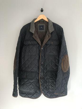 Christian Berg wiosenna kurtka pikowana z łatami łaty XXL