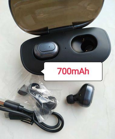 Беспроводные наушники на блютуз Bluetooth 5.0. Новые