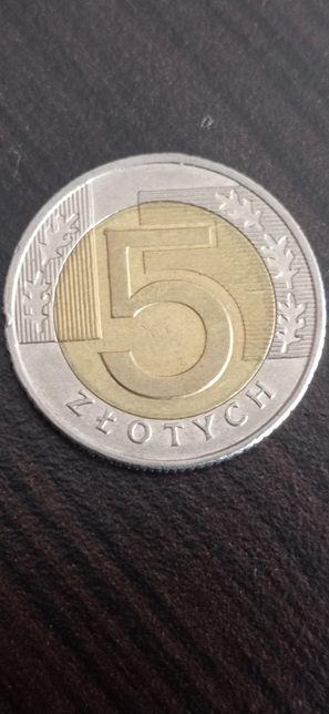 Destrukt 5zł moneta obiegowa