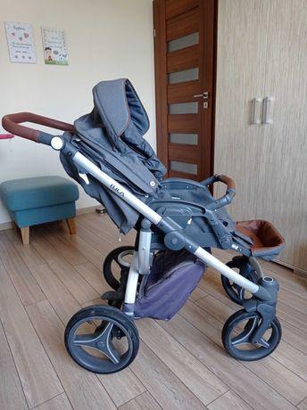 Wózek dziecięcy 2w1 bebetto luca