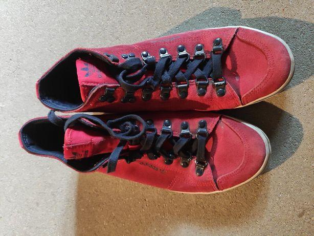Adidasy czerwone / adidas originals
