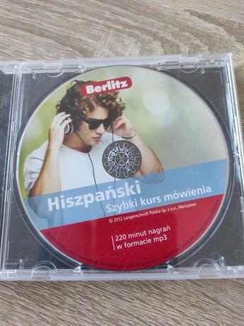 Płyta audio do nauki języka hiszpańskiego 220 minut nagrań mp3v audiob