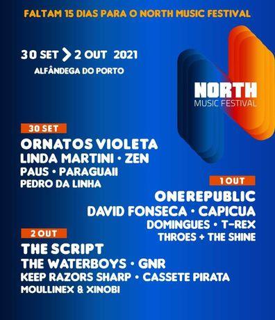 North music festival - 3 dias vendo