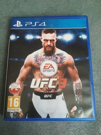 UFC3 na konsole PS4