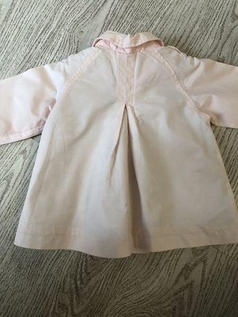 Весенняя курточка Zara на девочку 18-24 мес.