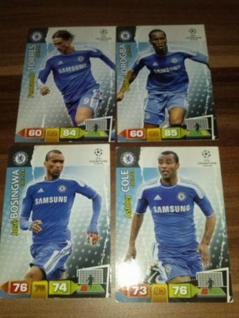 SCHALKE karty piłkarskie kolekcjonerskie PANINI Champions League 10/11