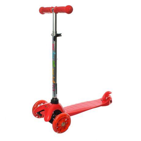 Самокат детский iTrike BB 3-013-4-C трехколёсный красный
