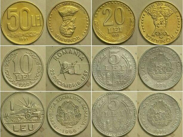 Монеты Румынии продам, цена за весь список.