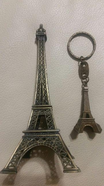 Eiffla Paryż breloczek oraz figurka