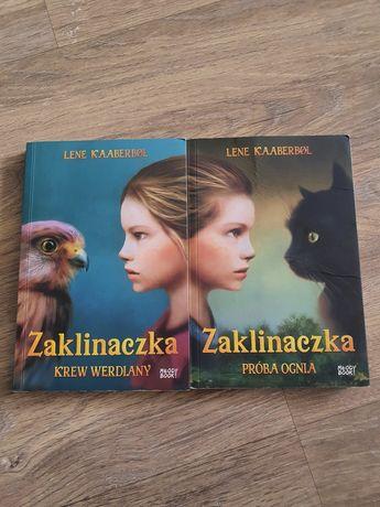 """Zestaw 2 książek """"Zaklinaczka"""" Lene Kaaberbol"""