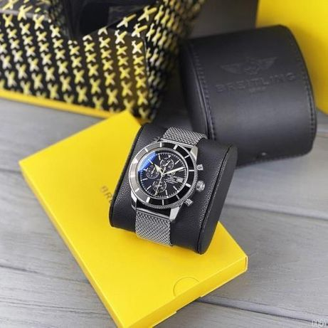 Часы мужские Breitling, механизм Miyota